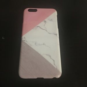 Accessories - Marble and pink iPhone case